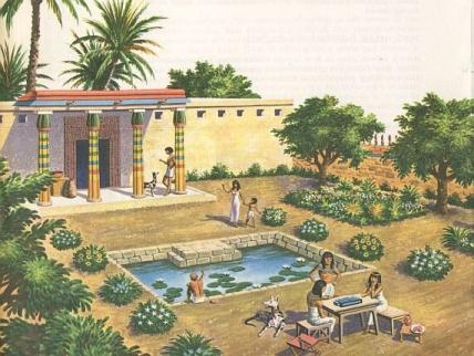 Egyptian garden