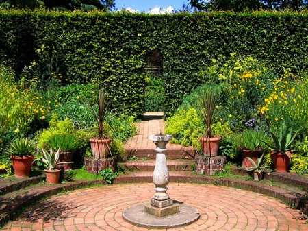 Hidcote Manor hedge