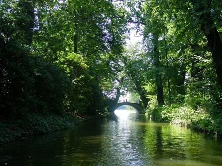 Woerlitz canal